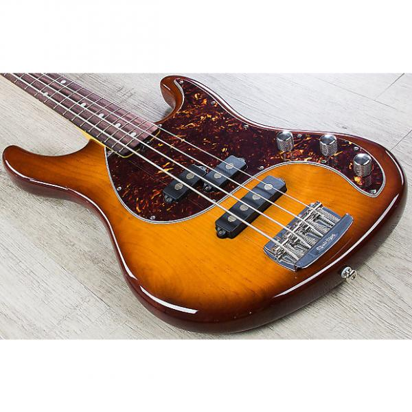 Custom Ernie Ball Music Man Caprice Passive Electric Bass Heritage Tobacco + Hard Case #1 image