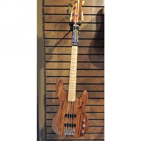 Custom Big Joe's Guitar Works Clayton Bass Natural #1 image