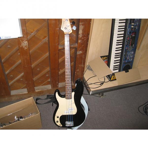Custom Johnson Left Handed Bass Black #1 image