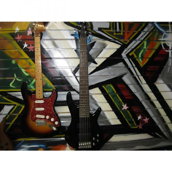 Custom Ibanez  G10 6 String Bass Black #1 image