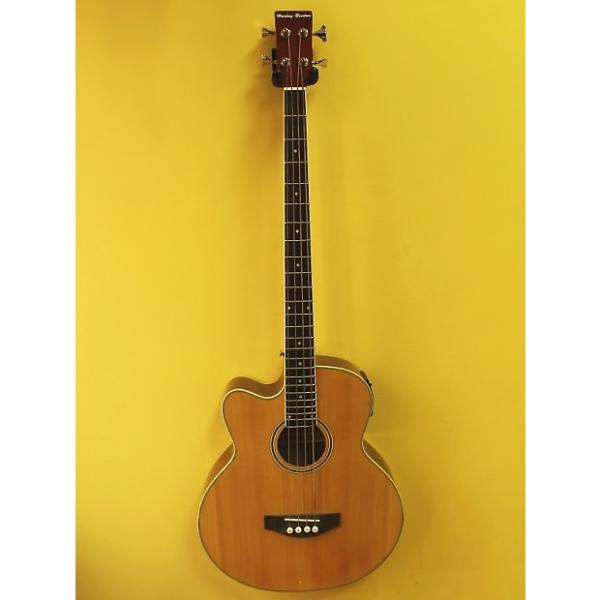 Custom Harley Benton B-30NT LH Electroacoustic Bass Left hamded #1 image