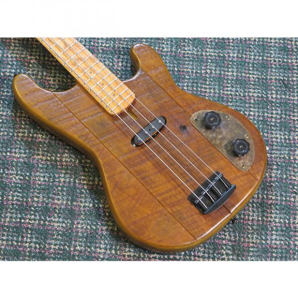 Custom Dismal Ax Barn StormerRARE Dismal Ax USA Barnstormer Bass! 4 String! w/hardshell case #1 image