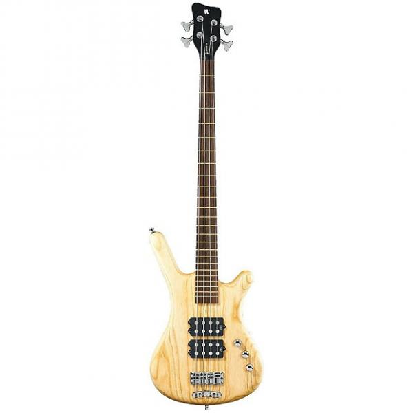 Custom Warwick Corvette $$ 4 String Electric Bass - Natural Satin Finish #1 image