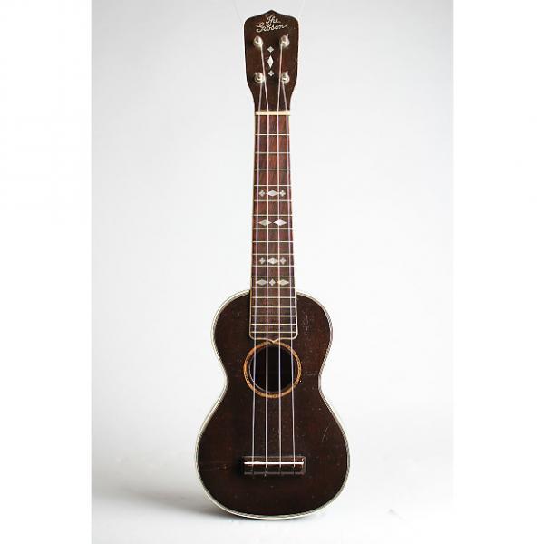 Custom Gibson  Uke-3 Soprano Ukulele,  c. 1928, NO CASE case. #1 image