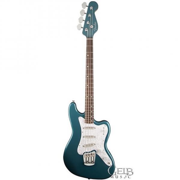 Custom Fender Classic Player Rascal Electric Bass Guitar in Ocean Turquoise W/Bag - 0140110308 #1 image