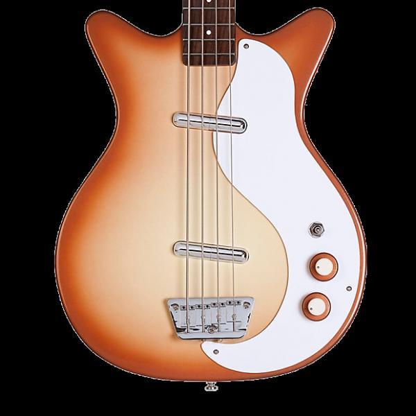 Custom Danelectro '59DC Long Scale Bass - Copperburst #1 image