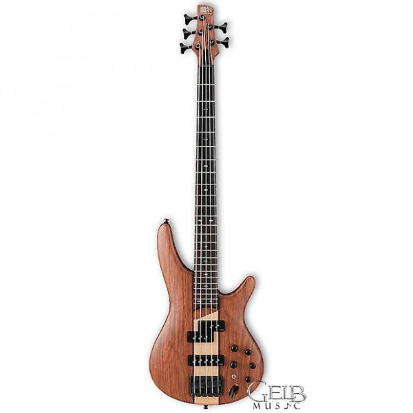 Custom Ibanez SR755-NTF SR Series 5 String Electric Bass in Natural Flat - SR755NTF #1 image