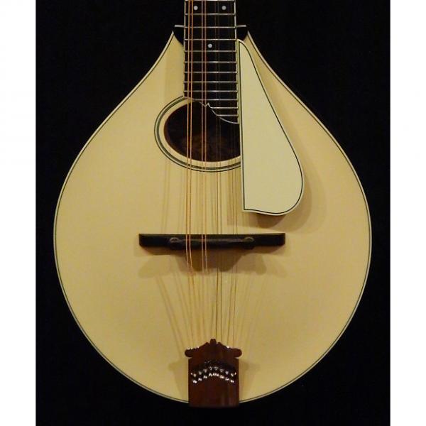Custom Collings MT2 O Mandolin with Italian Spruce Cream top and Ivoroid Pickguard NEW #1 image
