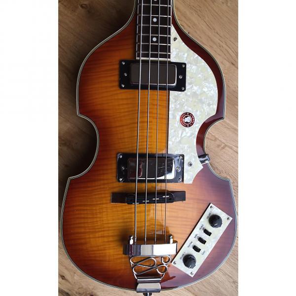 Custom Brand New ALDEN Violin Bass Vintage Sunburst SAVE £50! #1 image