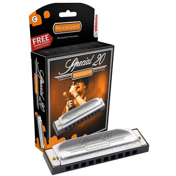 Custom Hohner 560pbx-e Special 20 Harmonica Key of E #1 image