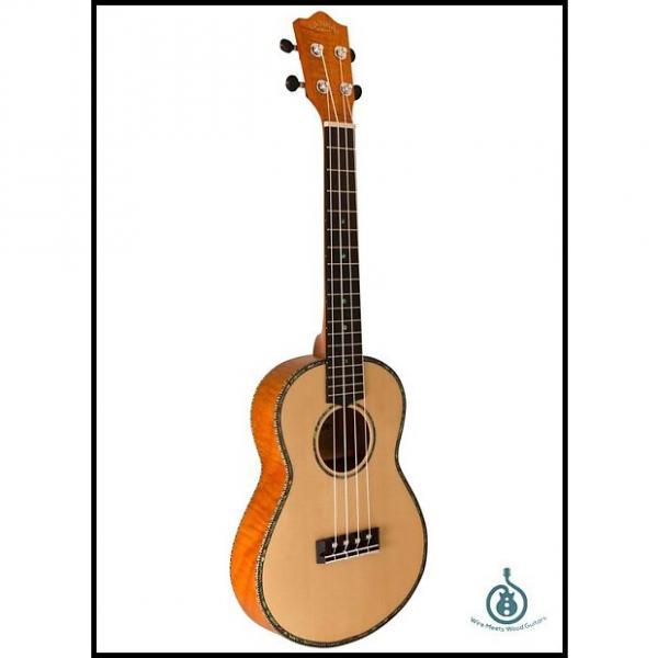 Custom Lanikai Thinline Spruce TunaUke, Tenor, SOTTU-T, Free Shipping, 00400912661168 #1 image