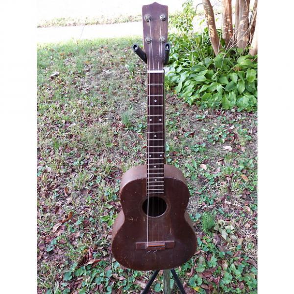 Custom Uke Ukelele baritone mahogany  natural #1 image