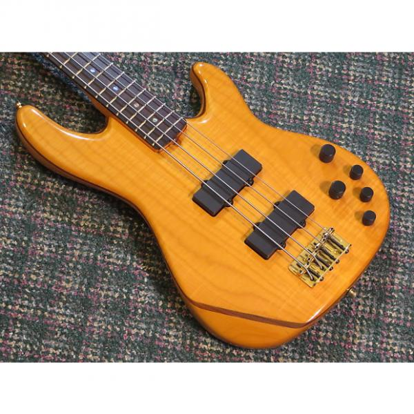 Custom 2002 Fender American Deluxe Zone 4 String Bass Flame Maple! w/OHSC #1 image
