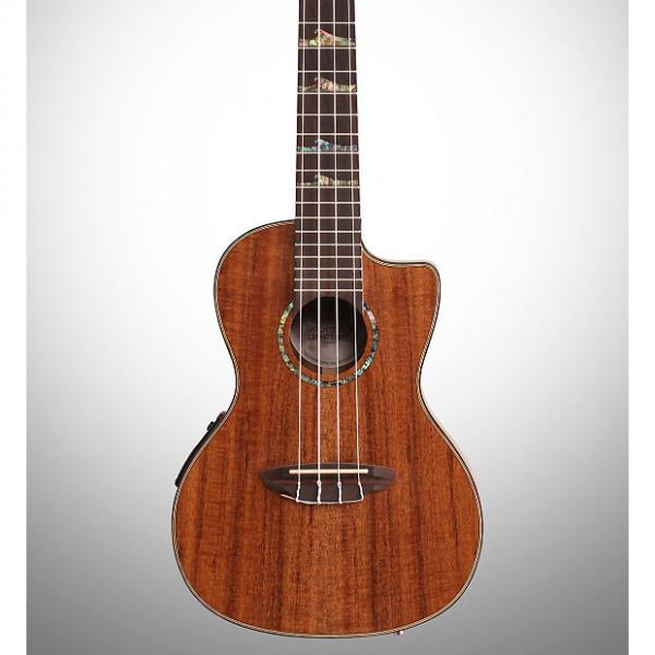 Custom Luna High Tide Concert Koa Acoustic-Electric Ukulele #1 image