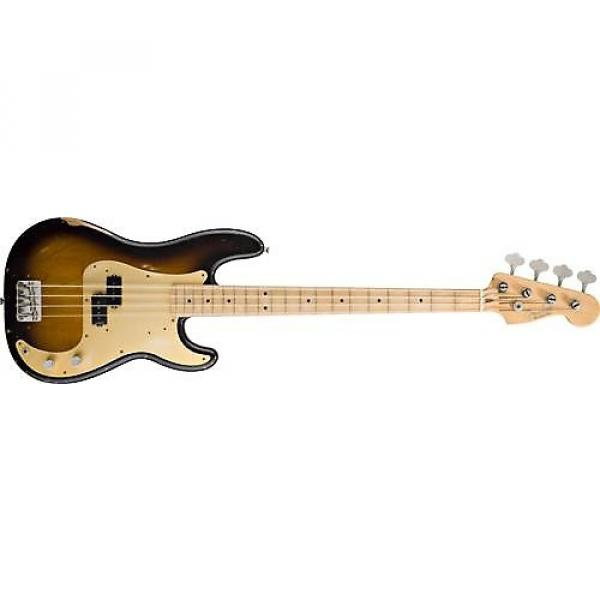 Custom Fender Road Worn '50s Precision Bass (2-Tone Sunburst) Used #1 image