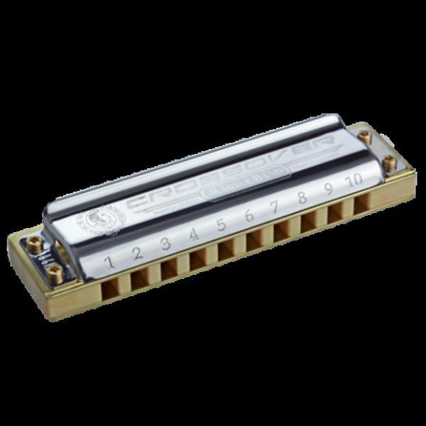 Custom Hohner M2009BX-G Marine Band Crossover Harmonica Key of G #1 image