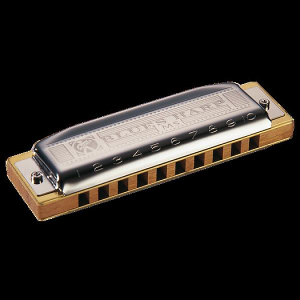 Custom Hohner 532BX-Bb Blues Harp Harmonica Key of Bb #1 image