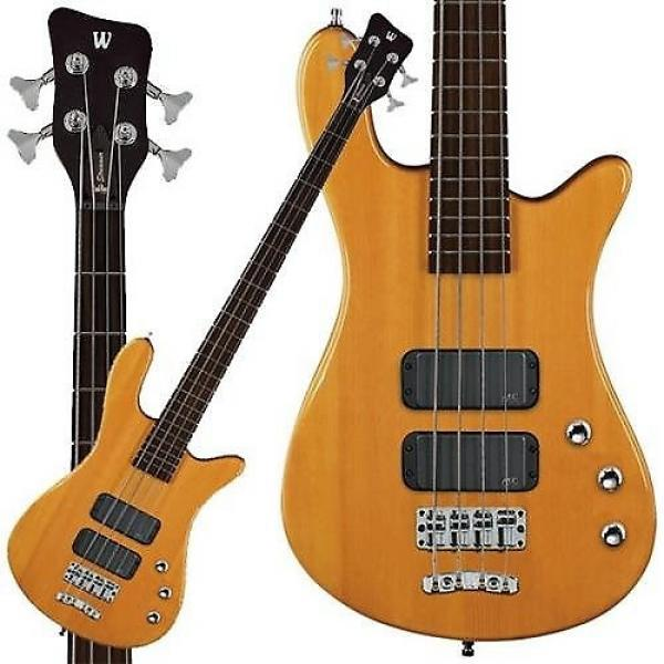 Custom Warwick RockBass Streamer Standard 4-String Bass Guitar (Honey Violin) #1 image