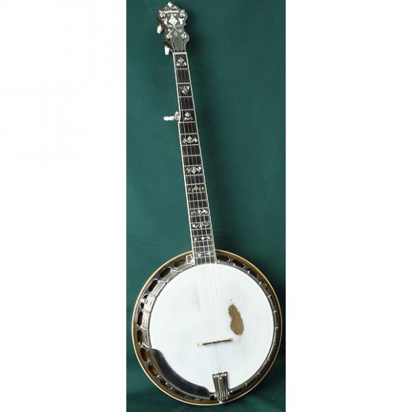 Custom Wildwood Paragon Bluegrass Banjo Natural Stain #1 image