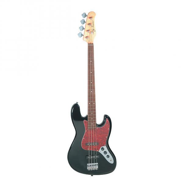 Custom Jay Turser JTB-402 Series Electric Bass Guitar, Black #1 image