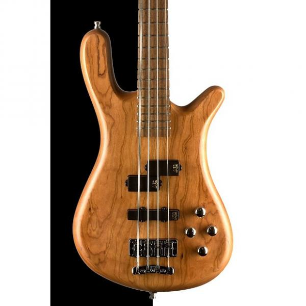 Custom Warwick German Pro Series Streamer LX Electric Bass, Natural Satin #1 image
