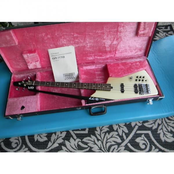 Custom Roland GR-77B Bass Guitar Synthesizer Complete Set Up Bass, Controller, Cables, Case, Box & Cartridg #1 image