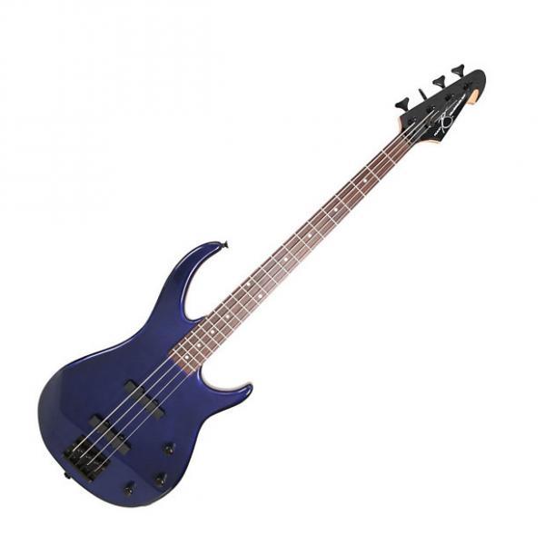 Custom Peavey Metallic Blue Millennium 4 String Bass 2015 Metallic Blue #1 image