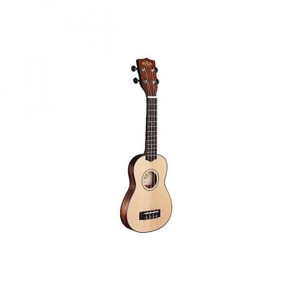 Custom Kala Travel soprano Mahogany KA-SSTU (+ housse) - Ukulele #1 image