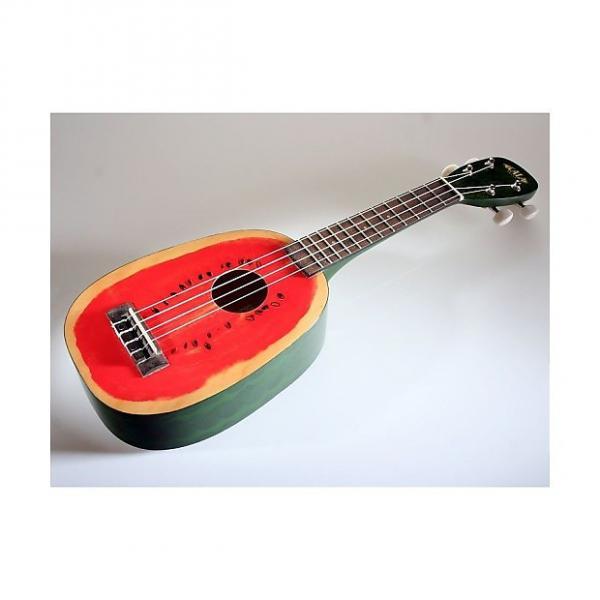 Custom Kala Acajou Watermelon KA-WTML - Ukulele Soprano #1 image