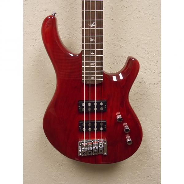 Custom PRS SE Kingfisher 4-String  2015 Scarlet Red w/ SE Branded Gigbag #1 image