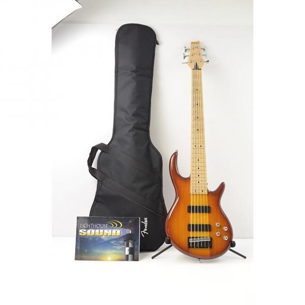 Custom Carvin Icon IC6 6 String Bass Guitar - Sunburst Active Electronics IC-6 #1 image