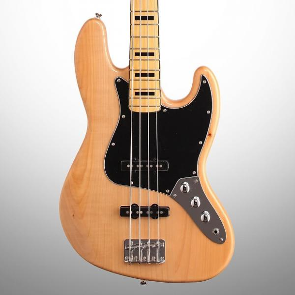 Custom Squier Vintage Modified '70s Jazz Electric Bass, Natural #1 image
