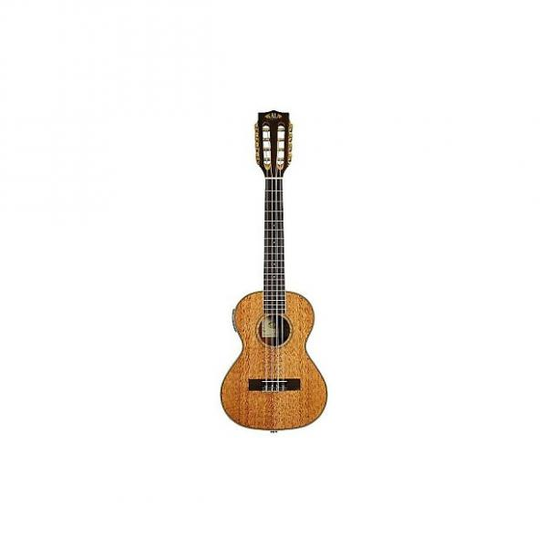 Custom Kala Mahogany KA-6E - Ukulele Tenor 6 cordes électro (+ housse) #1 image