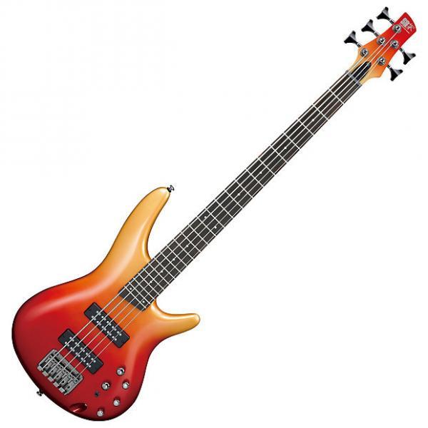 Custom Ibanez SR305E 5-String Autumn Fade Metallic Electric Bass #1 image