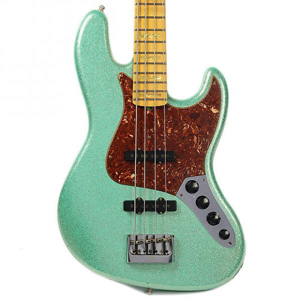 Custom Fender CS Custom Classic Jazz Bass Journeyman Relic Seafoam Green Sparkle #1 image