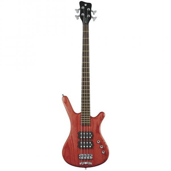 Custom Warwick Corvette $$ Bass Guitar (4 String, Oil Finish, Burgundy Red) #1 image