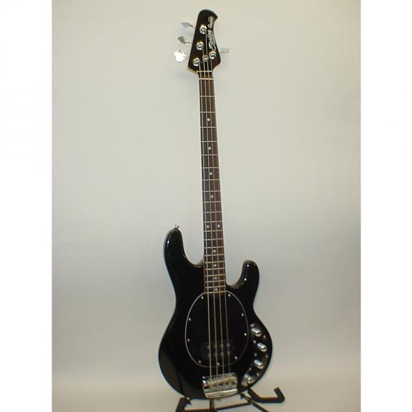 Custom Sterling by Music Man Ray34 4 String Electric Bass Guitar BLACK #1 image