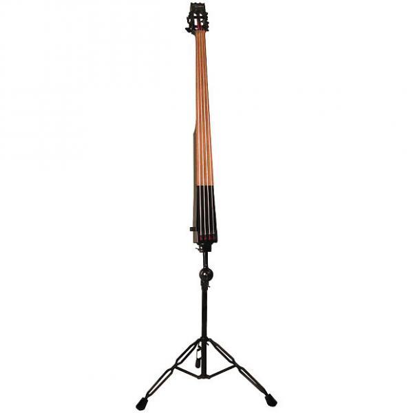 Custom Dean Upright Pace Bass Blk w/case #1 image
