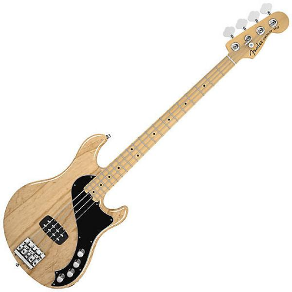 Custom Fender American Deluxe Dimension Bass IV with Maple Fingerboard - Natural #1 image