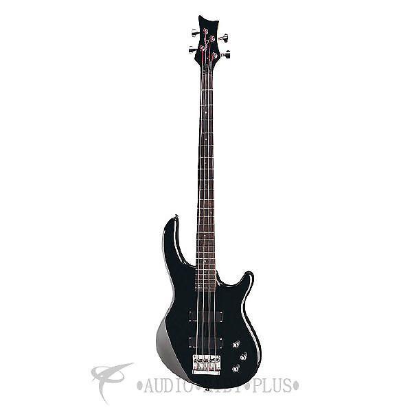 Custom Dean Guitars Edge 1 4 Strings Electric Bass Guitar Classic Black - E1 CBK - 819998001254 #1 image