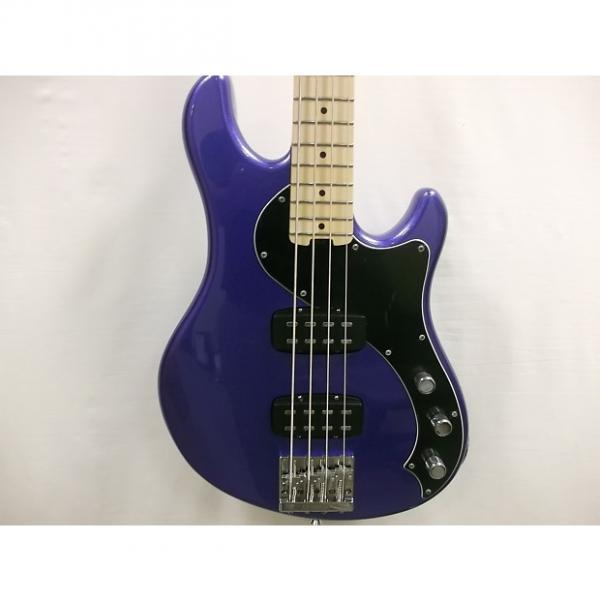 Custom Fender American Dimension Bass 4 HH Ocean Blue Metallic W/Case #1 image