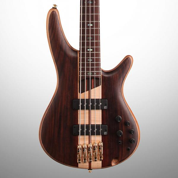 Custom Ibanez SR1805E SR Premium Electric Bass, 5-String, Natural Flat #1 image