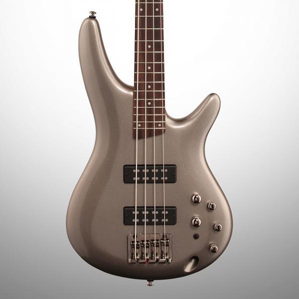 Custom Ibanez SR300E Electric Bass, Metallic Gray #1 image