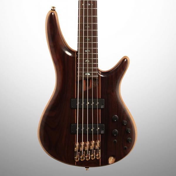 Custom Ibanez SR1905E Electric Bass, 5-String, Natural Low Gloss (with Gig Bag) #1 image