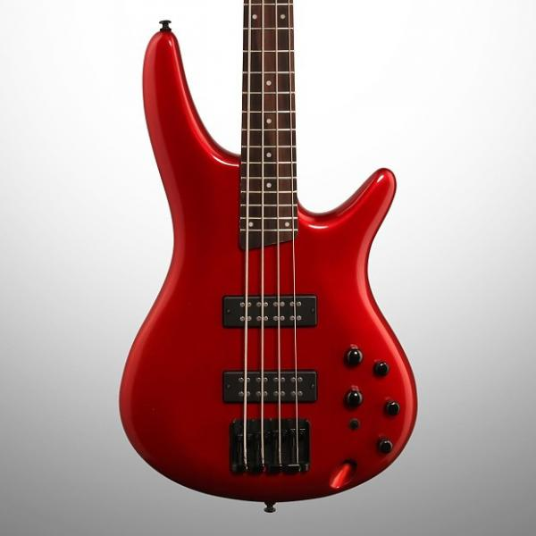 Custom Ibanez SR300E Electric Bass, Candy Apple Red #1 image