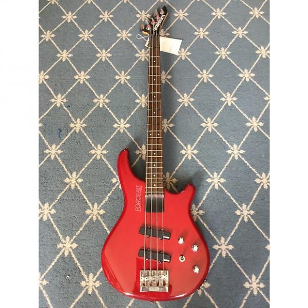 Custom Washburn B-10 Force ABT Bass 1990's Red #1 image