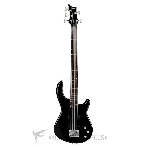 Custom Dean Guitars Edge 1-5 String Electric Bass Guitar - Classic Black - E15 CBK - 819998001186 #1 image