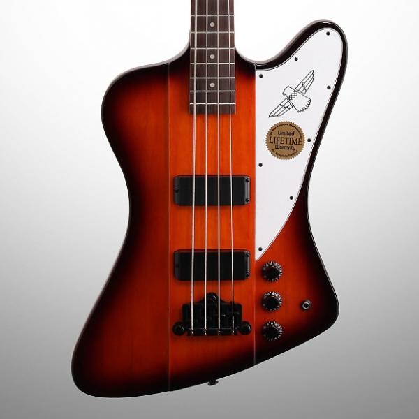 Custom Epiphone Thunderbird IV Electric Bass, Vintage Sunburst #1 image