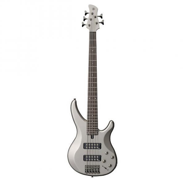 Custom Yamaha TRBX305 5 String Electric Bass Guitar Pewter Finish #1 image