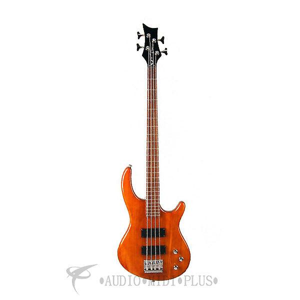 Custom Dean Guitars Edge 1 5-String Electric Bass - Trans Amber - E1 5 TAM - 819998001209 #1 image